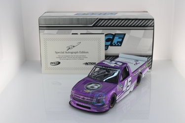 Ty Majeski Autographed 2020 Plan B Sales / Alzheimers Awareness Month 1:24 Liquid Color Nascar Diecast Ty Majeski diecast, 2020 nascar diecast, pre order diecast