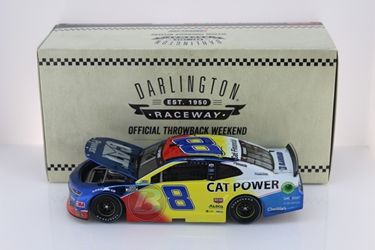 Tyler Reddick 2020 Caterpillar Power Darlington Throwback 1:24 Color Chrome Nascar Diecast Tyler Reddick, Nascar Diecast,2020 Nascar Diecast,1:24 Scale Diecast, pre order diecast